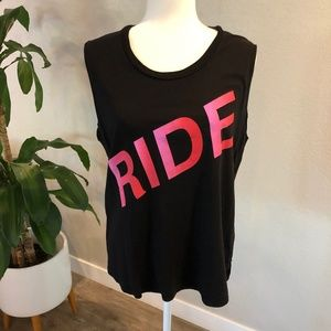 Flywheel RIDE Muscle Tank Size Large